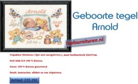 Geboortetegel Arnold
