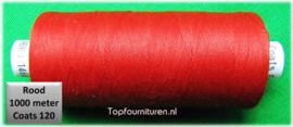 Rood naaimachinegaren 1000 meter