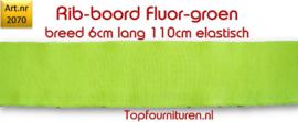 Rib-Boord Fluor groen (2070)