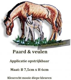 Paard met veulen (A002)