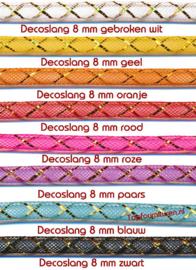Decoslang in diverse kleuren