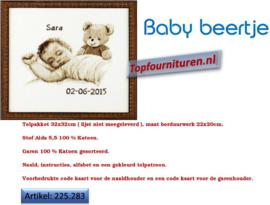 Geboorte tegel Sara