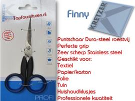 Professioneel kleermakers puntschaartje van Finny