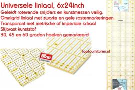 Universele liniaal 6x24inch Prym