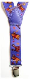 Kinderbretels Paars Winnie The Pooh