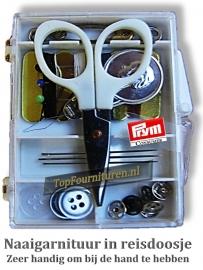 Setje naaigarnituren voor op reis Prym 651232