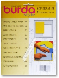Burda kopieerpapier (geel)