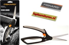 Fiskars Softouch 2911 voor rechts en linkshandigen.