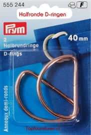 D-ring koper 40mm Prym 555244