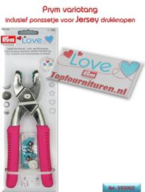 Vario drukknopentang Love 390902