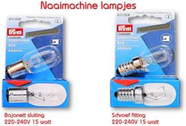 Naaimachine lampjes van Prym