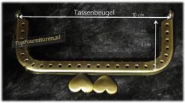 Tassenbeugel/frame brons 10cm