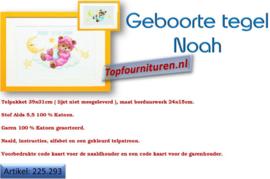 Geboortetegel Noah