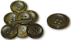 Knopen 20 & 25mm gemêleerd donker/legergroen
