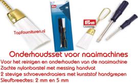 gereedschapsetje voor naai / lock machines
