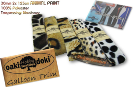 Sierband Galloon-Trim Animalprint