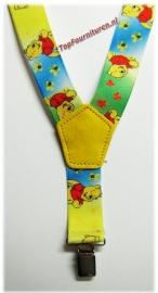 Kinderbretels Geel Winnie The Pooh