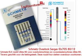 Schmetz overlocknaalden 80/12