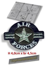 Air Forces opstrijkbaar.