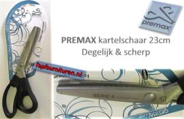 Premax kartelschaar 23cm