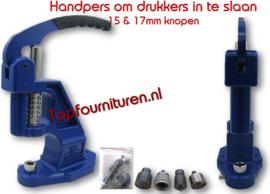 Handpers voor drukknopen