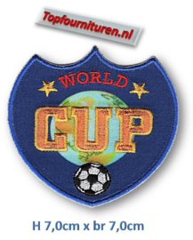 Applicatie World Cup opstrijkbaar