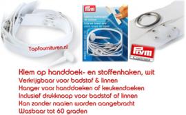 Handdoek lusjes met clip PRYM 401205-401206