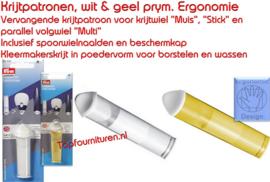Krijtpatronen, geel, prym. Ergonomie (navulling)
