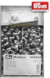 Grootverpakking nestels Ø 11mm zilver PRYM 542424