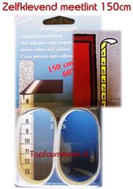 150 cm zelfklevend meetlint