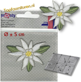 Applicatie Edelweiss Ø 5cm