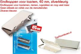 Eindstuk voor tassenriem of elastiek Prym 965251