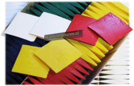 kleermakers wax in diverse kleuren