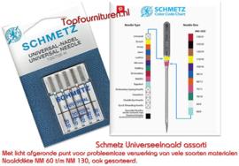 Schmetz Universeelnaalden assorti 70/10-80/12-90/14