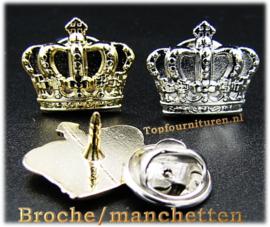 Broche/manchetten kroontje