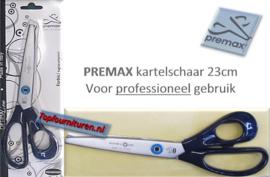 Premax kartelschaar 23cm professioneel gebruik