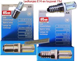 Naaimachine lampje Ledverlichting Prym 610375 / 610376