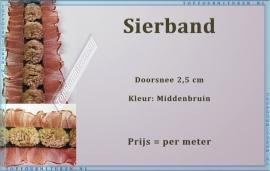 (SB200) Sierband bruin