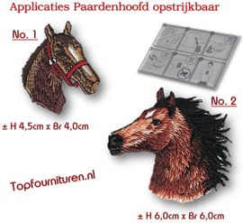 Paardenhoofden applicaties