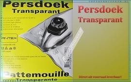 Persdoek Transparant
