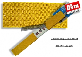 Riem voor tassen geel