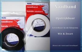 Naadband Zwart & Wit