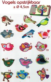 Vogel applicaties van PRONY opstrijkbaar