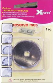 Reserve mes Sew Mate rolmes 45mm doorsnee