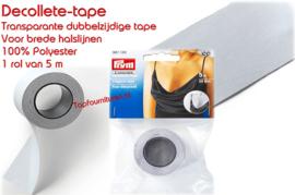 Decollete-tape