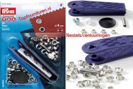 Nestels / centuurringen Ø 4mm Prym 542400/401/402