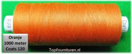 Oranje naaimachinegaren 1000 meter