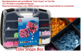 Prym 393900 Colorsnaps Box