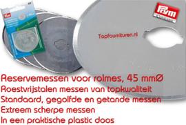 Reservemesjes rolmes 45mm PRYM 610472 (KK)