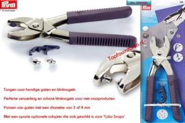 Vario drukknopentang voor drukknopen, gaatjes en nestelringen. 390900